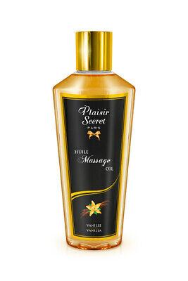 Aceite para masaje erótico aroma Vainilla Plaisir Secret 250 ml ENVÍO 24...