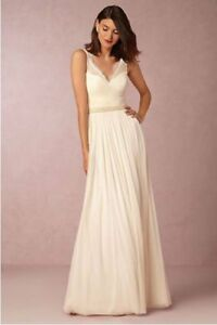 BHLDN Wedding Dress Size 10