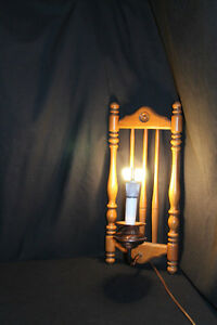 Wooden Rung Light