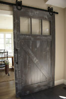 **2 In Stock** Reclaimed Wood Barn Door. By LIKEN Woodworks
