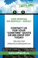 Jeff' Junk - BIN Rental and Junk Removal