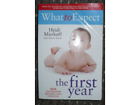 Bundle of 4 books about baby: Gina Ford, Heidi Murfoff, Sharon Mazel, Annette Karmiloff-Smith. VGC!