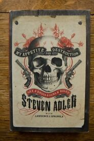 My Appetite for Destruction: Sex & Drugs & Guns 'N' Roses (Steven Adler) [Hardback]