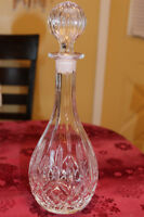 Crystal Decanter - 13 inches tall