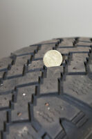 2 - Studded Winter Tires 215 65 16