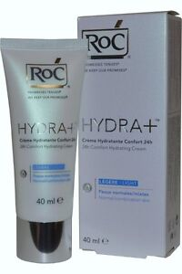 RoC Hydra+ 24h Comfort Hydrating Cream 40ml Normal/Combination Skin