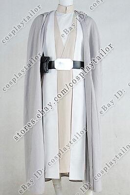 Star Wars: The Force Awakens Cosplay Luke Skywalker Costume Outfits Halloween