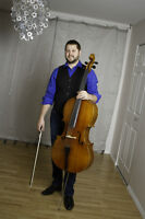 Live Cello Music for your wedding or special event!
