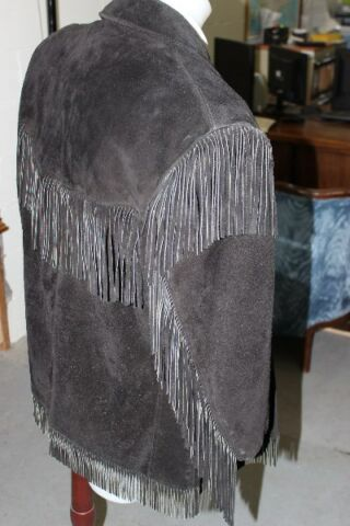 Western Style Womans Leather Jacket - Made by Schott