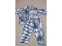 White Company Boys Flannel Pyjamas - 12-18 months