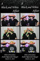 PHOTO BOOTH with FREE on site scrapbook, props, live slideshow