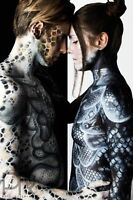 Airbrush face & body painting