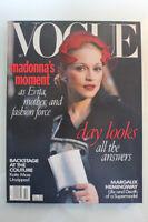 Madonna Magazines Vanity Fair Vogue Harpers BAZAAR
