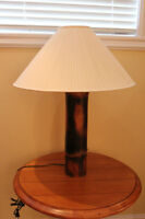 PAIR OF MATCHING TABLE LAMPS WITH SHADES