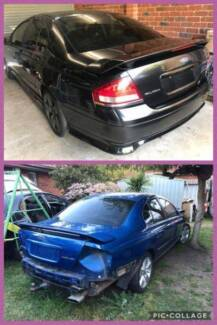 Ford Falcon XR6/XR8, BA - BF 2006 MKII *** WRECKING ***PARTS only