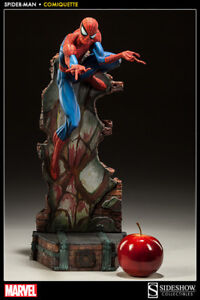 Sideshow Spider Man comiquette price include shipping