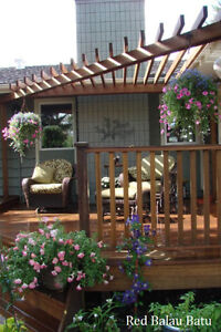 Exotic Hardwood Exterior Products - Durable & Affordable