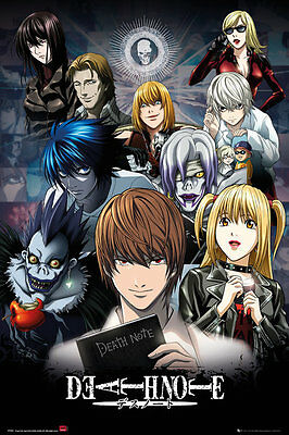DEATH NOTE - CHARACTER COLLAGE POSTER 24x36 - 5963