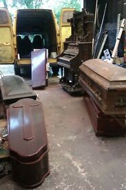 Coffins for Halloween props