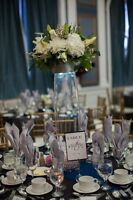 Beautiful wedding vases
