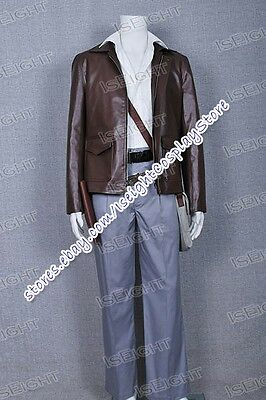 Indiana Jones Raiders Harrison Ford Cosplay Costume Full Set Outfit Halloween