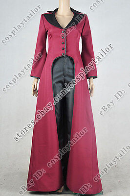 Once Upon A Time Regina Mills Evil Queen Cosplay Costume Halloween Club Party  - Costume Regina