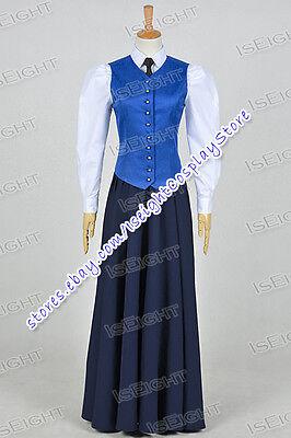 Who Is Doctor Series 7 The Crimson Horror Cosplay Jenny Flint Costume Halloween](Jenny Halloween Costume)