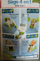 3 in 1 - High Chair / Swing / Toddler seat