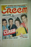 Joe Strummer singed Creem Mag.