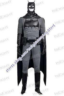 The Dark Knight Bruce Wayne Cosplay Costume Halloween Uniform Outfit Cool