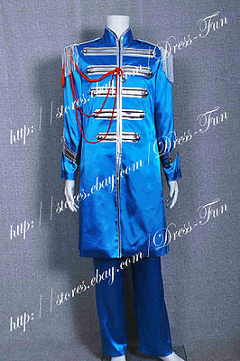 The Beatles Sgt Pepper Sir James Paul McCartney Cosplay Costume Halloween - Sergeant Pepper Halloween Costume