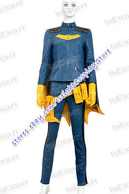 Arkham City Batgirl Catwoman Cosplay Costume Halloween Uniform Outfit New