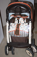 Safety First Car Seat and Stroller