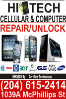 WINNIPEG CELL PHONE REPAIR: iPhone screen i4/4s=$55, i5=$75