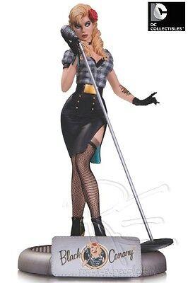 DC Collectibles DC Comics Bombshells Black Canary Statue New
