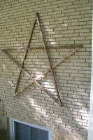 Rustic Star Wall Decor