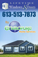 Windows and Doors  BY ENVIROPURE. Voted #1 again in 2014!!!
