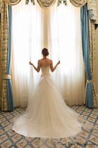 Size 8 to 10 stunning Karen Willis Holmes inspired wedding dress Hawthorn East Boroondara Area Preview