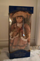 Handcrafted Collectible Porcelain Doll