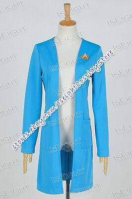 Star Trek:The Next Generation TNG Cosplay Beverly Crusher Costume Coat - Crusher Costume