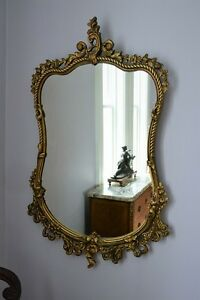 Antique French Mirror - free delivery