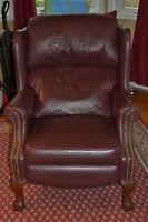 Elran Reclining Leather Chair