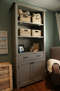 LIKEN Woodworks: Reclaimed Wood Nursery Bookshelf