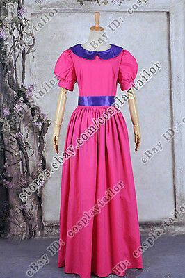 Adventure Time Bubble Princess Bubblegum Cosplay Costume Girl's Dress Halloween