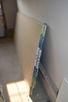 6 pieces of ECOBLUEPRINT  ½ x 4x 12 Drywall for sale