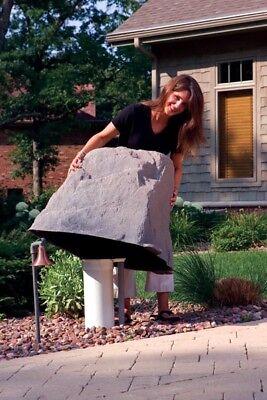 Dekorra Model 102 Rock Enclosure Faux Rocks Well Cover, 4 Colors Available