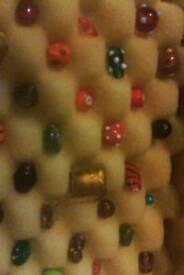 Vintage Murano glass beads