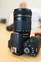 Canon EOS Rebel T5i With 18-135mm