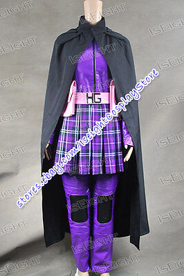 Kick-Ass Hit Girl Cosplay Costume Purple Uniform Outfit Halloween High Quality - Hit Girl Costumes