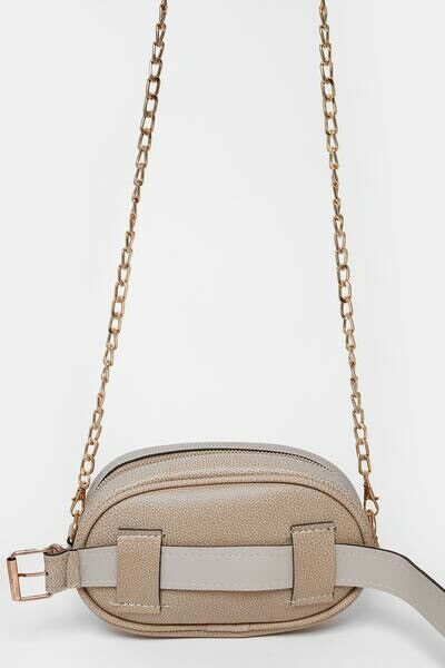ba421963b4 Women's GG Beige Gold Stripe Mini Bumbag Shoulder Bag Brand New | in ...